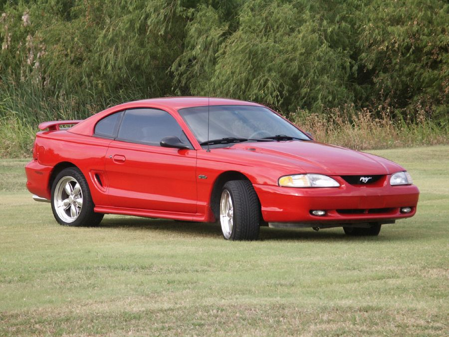 Ford  1996 Ford Mustang Gt  19s20s Car and Autos All Makes All